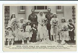 Postcard Royal Family Rp Major Evelyn Gibbs Lady Helena Of Cambridge   Unused Beagles - Royal Families