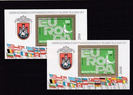 Ungarn, Block 126 A/B**. (K 1465) - Blocks & Sheetlets