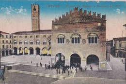 TREVISO - PIAZZA DEI SIGNORI E PALAZZO DEL 300  VG   AUTENTICA 100% - Treviso
