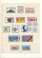 7609) Sammlungsauflösung Jahrgang 1990 Postfrisch - BRD