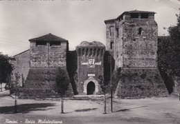 CARTOLINA - POSTCARD - RIMINI - ROCCA MALATESTIANA - Rimini