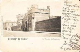 NAMUR - La Caserne Des Lanciers.  Oblitération De 1902 - Carte Précurseur - Namur