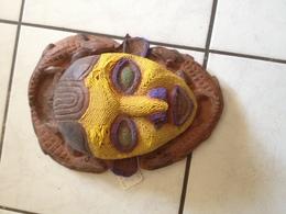 Masque, Perlé, Bamiléké , Cameroun - Art Africain