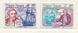 POLYNESIE  ( DT - 445 )   1978  N° YVERT ET TELLIER  N° 130/131 - Oblitérés
