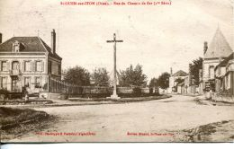 N°4262 A -cpa St Ouen Sur Iton -rue Du Chemin De Fer- - Frankreich