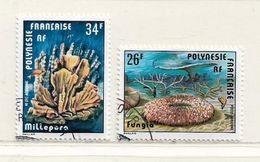 POLYNESIE  ( DT - 453 )   1978  N° YVERT ET TELLIER  N° 138/139 - Oblitérés