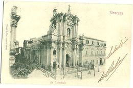 Siracusa - La Cattedrale - Viaggiata, Inizio '900 (1910?) - Siracusa