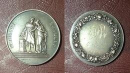 FRANCE - Médaille De Mariage FIDÉLITÉ - BONHEUR, Attribuée Le 4 Août 1926 - Other
