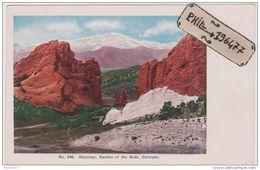 Colorado - Cpa / Gateway, Garden Of The Gods. - Etats-Unis