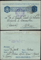 Italy - Biglietto Postale Per Le Forze Armate. Campagnia Misto Genio, 148 Plotone, CARIATI 26.6.1943 - Albinia. - Franchise
