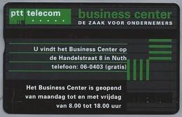 NL.- Telefoonkaart. PTT Telecom. 4 Eenheden. Business Center, Handelstraat 8, Nuth. 402F - Telecom