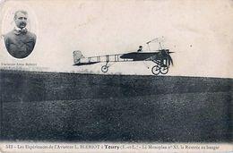 Cpa TOURY 28 Les Expériences De L' Aviateur L. BLERIOT - Le Monoplan N° XI, La Rentrée Au Hangar - Other Municipalities