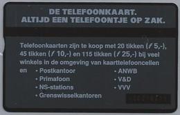 NL.- Telefoonkaart. PTT Telecom. 4 Eenheden. De Telefoonkaart. Altijd Een Telefoontje Op Zak. 442B - Telecom