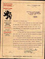87097) Francia-lettera Della Mercure Universal Et Mercure De Flandre-valentin Bresle Con Firma - Manuscritos
