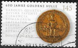 2006 Allem. Fed. Deutschland Germany Mi. 2516 Used . 650 Jahre Goldene Bulle - Gebraucht