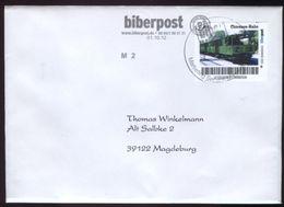 Biber Post, Gelaufener FDC 0,45 € Chiemsee - Bahn V. 01.11.2012 #1218 - BRD
