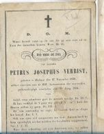 MA10/ ° HALLAER 1832 + 1856   PETRUS VERBIST - Religion & Esotericism