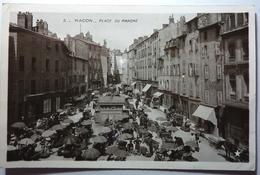 PLACE DU MARCHÉ - MACON - Macon