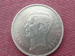 BELGIQUE Monnaie 20 Frs Et Quatre Belgas 1932 Superbe état - 1909-1934: Albert I