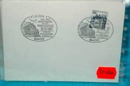 ST4576 Tag Der Briefmarke Barockstadt 6400 Fulda 1983 - Marcofilia - EMA ( Maquina De Huellas A Franquear)