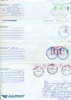 Kazakhstan. Four Envelopes Passed The Mail. - Kazakhstan