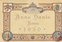 11365) ROMA ANNO SANTO 1950 CARTOLINA COMMEMORATIVA NON VIAGGIATA - Christianisme