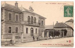 CPA Le Poizat Mairie Et Ecoles 01 Ain - Francia