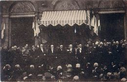 Cpa STRASBOURG 67 Le Président De La République à L' Hôtel De Ville De Strasbourg, Le 9 Décembre 1918 - Strasbourg