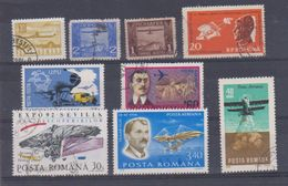 Roumanie  / Poste Aérienne / Lot De Timbres / Etats Divers - Posta Aerea