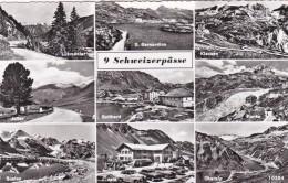 9 Schweizerpässe - 9 Bilder (10384) * 4. 9. 1957 - Schweiz