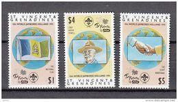 St. Vincent MNH Michel Nr 3106/08 From 1995 / Catw 8.00 EUR - St.Vincent & Grenadines