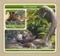 Niger 2018 Snakes  S201801 - Niger (1960-...)