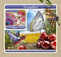 Niger 2018 Butterflies S201801 - Niger (1960-...)