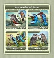 Niger 2018 Kingfishers Birds S201801 - Niger (1960-...)