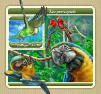 Niger 2018 Parrots Birds S201801 - Niger (1960-...)