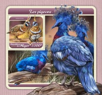Niger 2018 Pigeons Birds S201801 - Niger (1960-...)