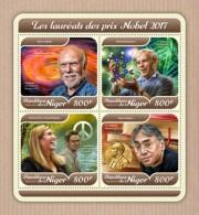Niger 2018 Nobel Prize S201801 - Niger (1960-...)