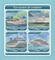 Niger 2018 Cruise Ships S201801 - Niger (1960-...)
