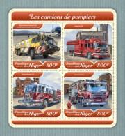 Niger 2018 Fire Engines S201801 - Niger (1960-...)