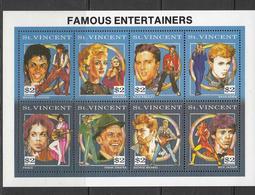 St Vincent MNH Michel Nr 1891/98 From 1993 Catw 24.00 EUR - St.Vincent (1979-...)