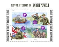 Sierra Leone 2018 Scout Baden Powell S201801 - Sierra Leone (1961-...)