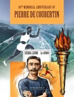 Sierra Leone 2018 Olympics Pierre De Coubertin S201801 - Sierra Leone (1961-...)