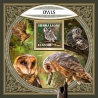 Sierra Leone 2018 Owls S201801 - Sierra Leone (1961-...)