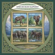 Sierra Leone 2018 African Bush Elephant S201801 - Sierra Leone (1961-...)