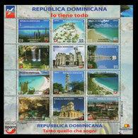 DOMINICAN REPUBLIC UPAEP TOURIST SITES MNH 2017 NEW - Dominicaine (République)