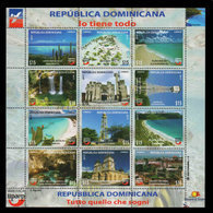 DOMINICAN REPUBLIC UPAEP TOURIST SITES MNH 2017 NEW - Dominican Republic