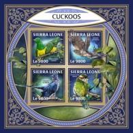 Sierra Leone 2018 Cuckoos S201801 - Sierra Leone (1961-...)