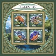 Sierra Leone 2018 Kingfishers S201801 - Sierra Leone (1961-...)