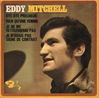 Disque 45 Tours EDDY MITCHELL (BIEM 1967 BARCLAY 71 126 M) - 4 Titres - Rock