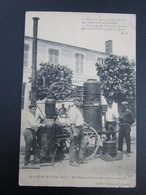 CPA 17 ETAULES  Distillerie Ambulante ( Système Charentais ) - Andere Gemeenten